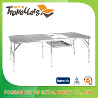 Outdoor Aluminum Slim Folding BBQ Table 1680/Briefcase Folding Table