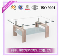 Home furniture glass coffee table