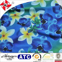 Floral Printed Fabric Material For Making Dresses