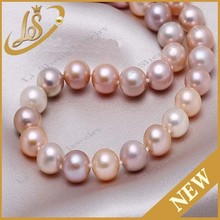 Natural round pearl strands beads wholesale price pearl strand