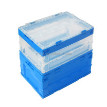 Plastic storage box with many style foldable plastic turnover box