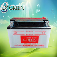 GREEN Sealed Lead Acid 12volt Dry Cell Battery(12N7L-4B)