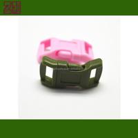 various colors plastic bracelet buckle,plastic paracord buckle,colored plastic buckle for 550 paracord