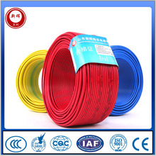 450/750v Electric Wires PVC Insulated PVC Sheath Copper Building Flexible Electrical Wires