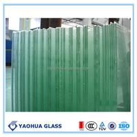 alibaba china stained glass dark green laminated glass