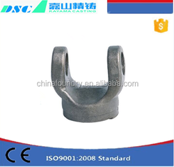 Customized Machinery Parts alloy steel universal joint with high quality