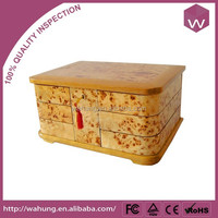 Chinese wholesale antique wooden cigarette box