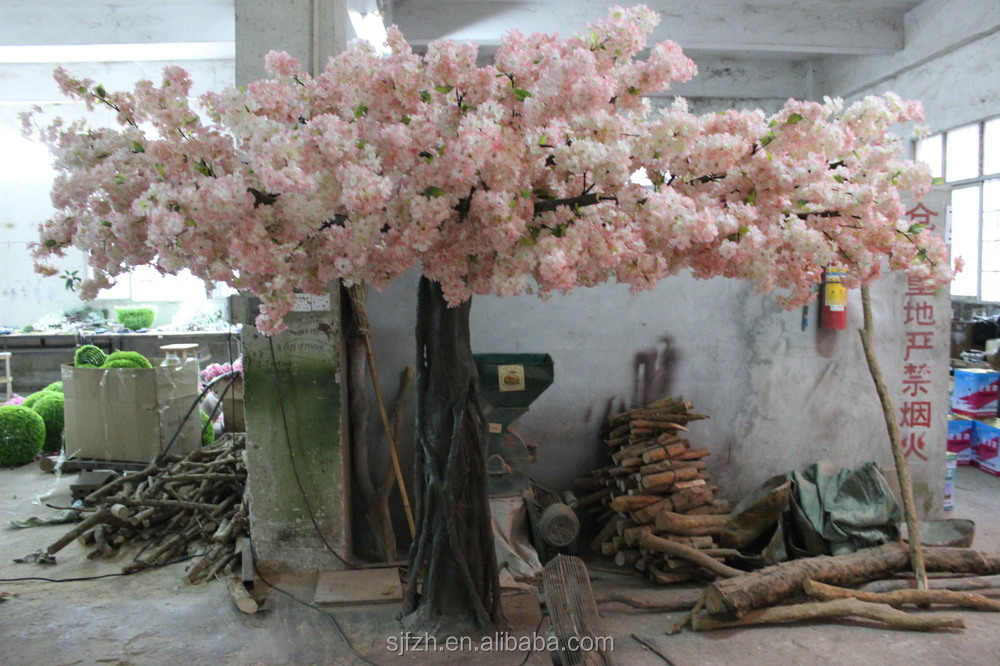 Indoor decoration artificial indoor cherry blossom tree light pink img3075g mightylinksfo
