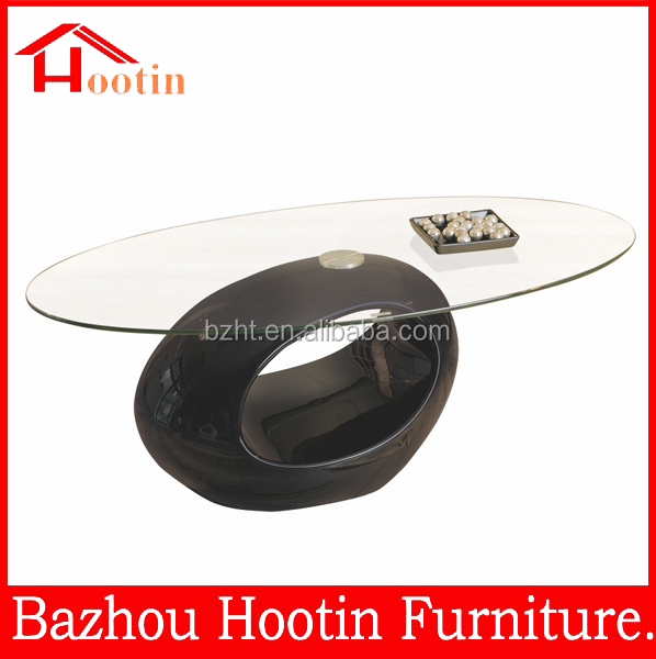 cheap round glass high gloss coffee table living room furniture buy