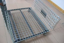 Evergreat registered brand foldable steel wire mesh cage/wire mesh container