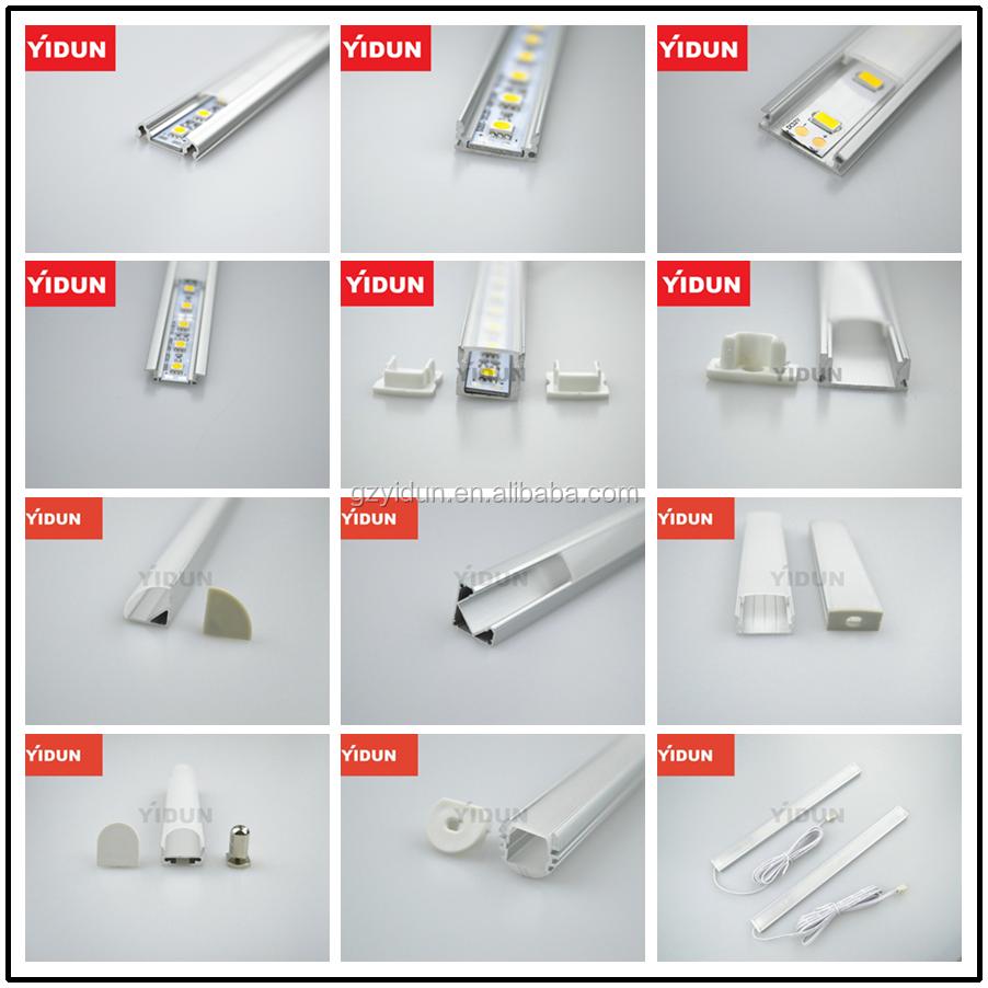 Новый дизайн светодиодный алюминиевый профиль для прокладки ВОДИТЬ