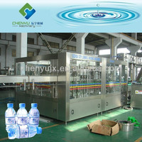 CGF Type Mineral Water Bottle Filling Machine / Production Line