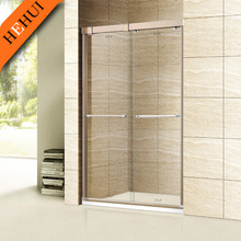 GD-707 glass shower screen fittings bathroom accessory shower enclosure and 304# s-s flexible shower enclosure