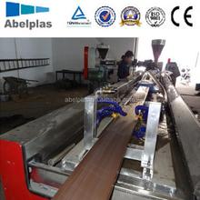 WPC/PVC floor profile machine/PVC profile extruder machine