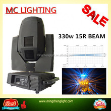 beam spot wash 3in1 15R 330w robe pointe moving head light for big show