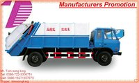 DTA compression garbage truck / garbage compactor truck/refuse compression truck manufacturer