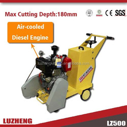 Luzheng new type asphalt and concrete cutting machine