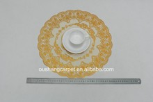 2015 popular design table decoration with PVC placemat