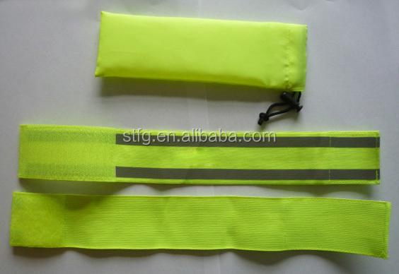 sarı yüksek görünürlük reflektör elastik bant satış