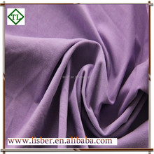 T/SP Polyester/Spandex Knit Plain Dyed Men's Knitting Suiting Fabric