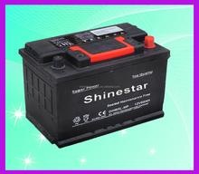 Cheap DIN65 12v 65Ah battery kids car batteries