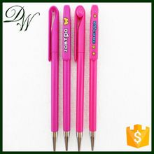 2015 best seller heavy customised ball pens, cheap plastic pen with custom logo