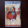 Thanksgiving turkey table cover/overlay sheet/cloth hot decoration