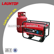 2.0kw Launtop natural gas & LPG Generator with Air-cooled, 4-stroke engine