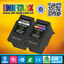 wholesale direct from china recycle for canon pg640xl / cl641xl printer inkjet cartridge