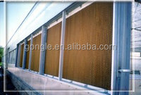 wet wall evaporative cooling systems and pad for agriculture