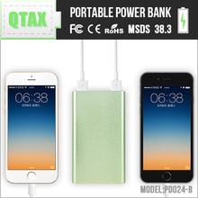 Travel Essentials 5V 8000mah Best Portable Smart Power Bank with Dual USB Port