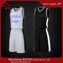 2015 new design 100% polyester sublimation basketball uniform/basketball jersey/basketball wear