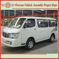 New Manual Transmission Left Hand Gasoline Engine Bigmt 6480A1 15 Passenger Mini Bus Price