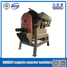 Verticle Ring permanent magnetic mineral separator / mineral separation