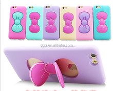 rabbit ear silicone mobile phone case, phone case silicone, android phone silicone case