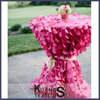 wedding washable vinyl table cloth
