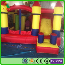 Beautiful princess Inflatable bouncy castle/commercial bouncing castle/water slide obstacle