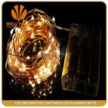 0.4mm copper wire string light mini christmas light bulbs