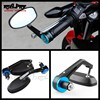 BJ-RM-046 2014 new motorcycle CNC bar end mirror