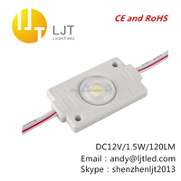 LED module with lens 5050 epistar lamps 1.5w waterproof ip65 same samsung cr ee osram led modules