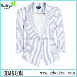 New Spring long sleeve business ladies suits women formal office stripe uniform for women OEM