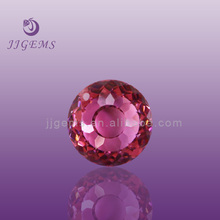 Beautiful cutting pink artificial zircon