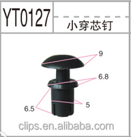 Professional manufacturer of plastic clips for auto fasteners/Plastic clips for cars