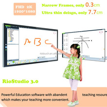 Riotouch 50 55 65 70 84 inch TFT LCD display infrared touch screen monitor