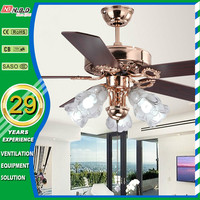 52inch pull switch home decorative fancy ceiling fan light