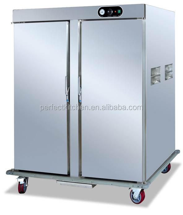 Mobile singe door electric food warmer cabinet electric for Perfect kitchen equipment