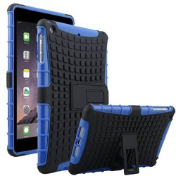 High Quality 2 in 1 Armor PC Silicone Case For iPad Mini 3 2 1 Ballistic Case