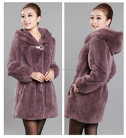 China wholesale dyed cheap and fine soft rex rabbit fur coat