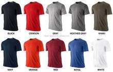 dry fit custom printing dri fit for man short sleeve dri fit