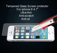 Premium Tempered Glass Screen Protector for iPhone 6 Toughened protective film For iPhone 6 4.7inch
